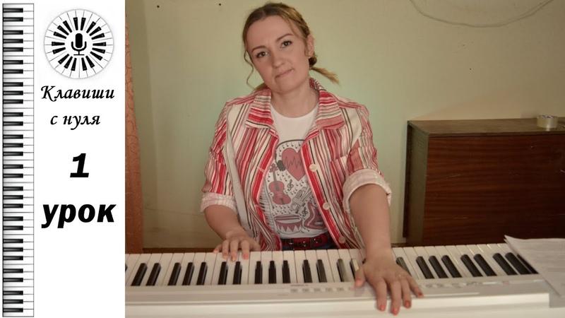 Клавиши с нуля 1 урок Linkin park In the end на пианино