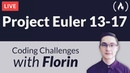 Project Euler Challenges 13-17 - Coding Challenges with Florin