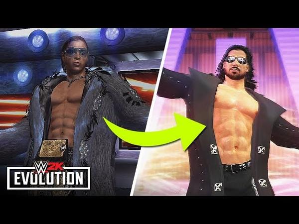 The Evolution of John Morrison In WWE Games SVR 2007 To WWE '12