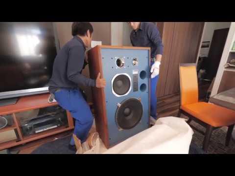 Old Vid 名古屋 驚異の出音 KENRICK Upgrade JBL4344 ケンリック製スピーカー Distinguished Speakers to Mr Fuwa in Nagoya