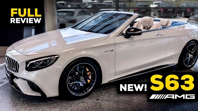 2020 MERCEDES AMG S63 Cabriolet NEW FACELIFT $295 000 V8 FULL Review Interior 4MATIC