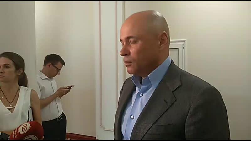 Игорь Артамонов после награждения и встречи с ФК Металлург