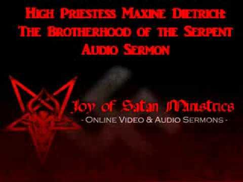 Joy of Satan Brotherhood of the Serpent – High Priestess Maxine Dietrich Sermons