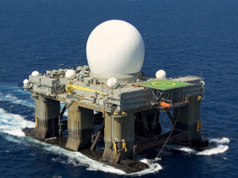 Платформа «Sea-Based X-Band Radar (SBX-1)», построенная в интересах американского Missile Defense Agency