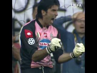 Сейв Буффона в финале Лиги чемпионов-2002/03