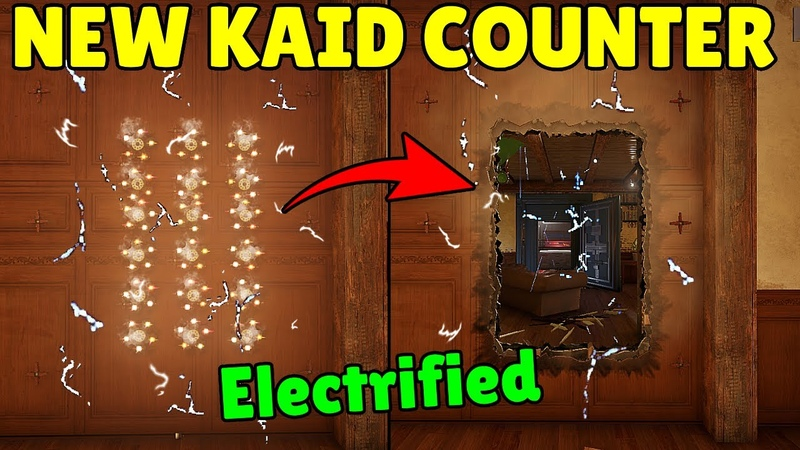 *NEW* Hibana Can Open Electrified Walls *Without* Removing Kaid Electroclaw ! - Rainbow Six Siege