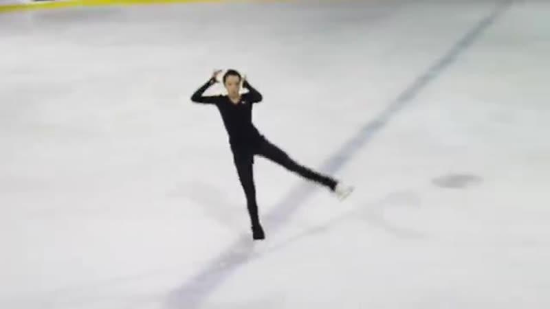 Полина Цурская, КП на тренировке (2 этап КР 2017)