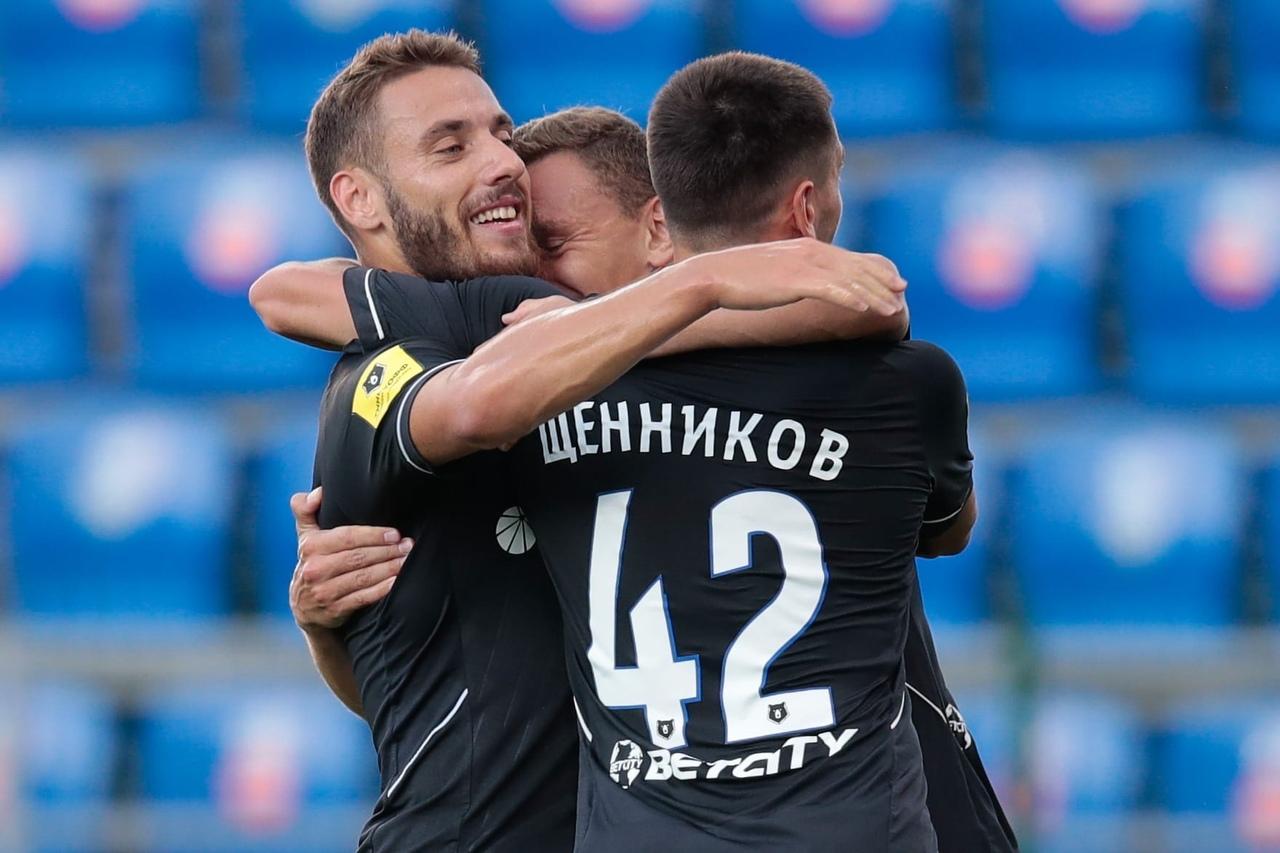 Никола Влашич, Федор Чалов и Георгий Щенников. ПФК ЦСКА