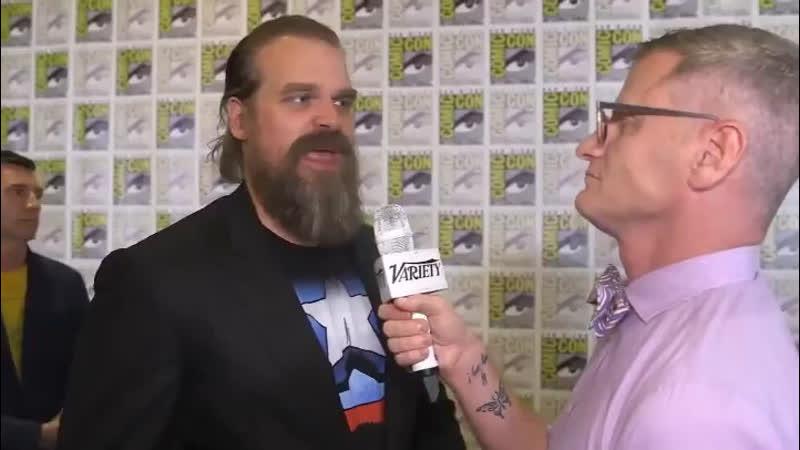 Variety interview