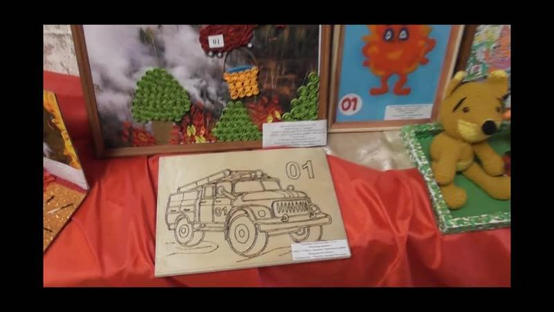 Онлайн выставка работ участников районного конкурса Неопалимая Купина