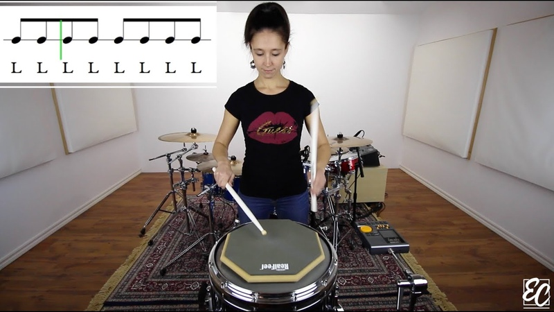 Emmanuelle Caplette: Warmup Full Stroke Free Lesson On Practice Pad