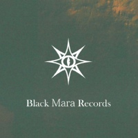 Логотип BLACK MARA dark ambient drone ritual music label