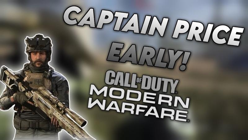 Get CAPTAIN PRICE EARLY in Modern Warfare Warzone Season 4 Operators EARLY