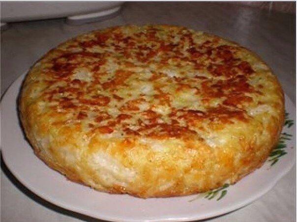 Отличный рецепт пирога НУЖНО :Мука 200 гКефир 150 млМайонез 100 млЯйцо 3 штСода 0,5 ч. л.Капуста белокочанная (кочан 0,5 кг) 1 штМорковь 1 штСольГОТОВИМ:Смешать яйца, кефир, майонез, соль, соду