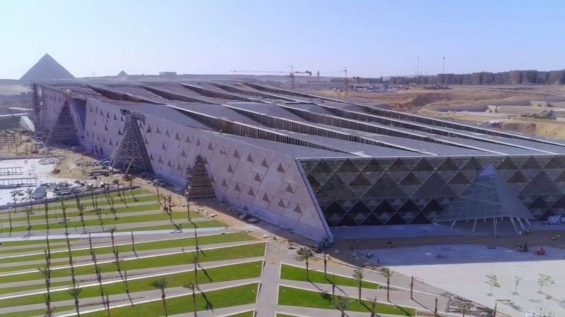 The largest museum in the world Grand Egyptian Museum GEM 2020
