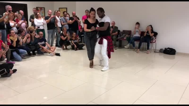 Kizomba Dancing JD Deceus Olga Kryachko