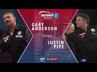 2020 World Matchplay Round 1  Anderson vs Pipe