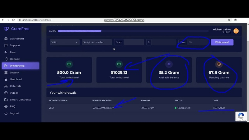Gram Free Website Without Investment Earn Money 1000$ Free Live Payment Proof