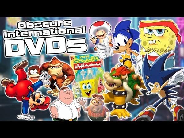 Bizarre International DVDs From Around The World - Sonic, Mario, SpongeBob More!