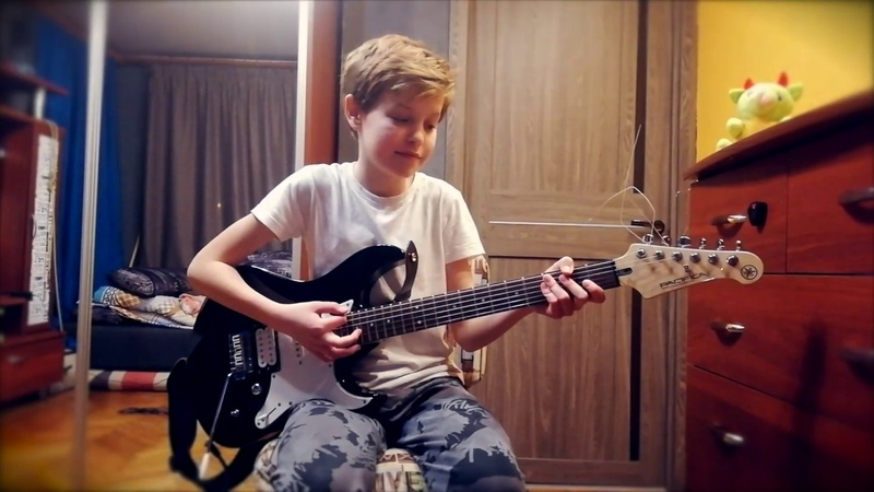 Metallica For Whom The Bell Tolls Guitar cover by Danil Morev