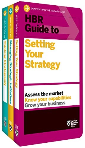 Book cover HBR Guides to Building Your Strategic Skills Collection