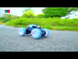 Машинка перевертыш Hyper Skidding RC Stunt Cars ZhengGuang UD2196a управляется жестами