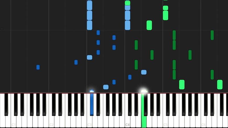 Boulevard Of Broken Dreams Green Day Piano Tutorial Synthesia Piano