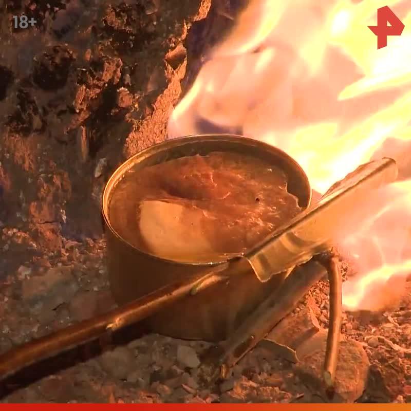 Тимофей Баженов готовит ужин на газовом месторождении / #РЕНТВ