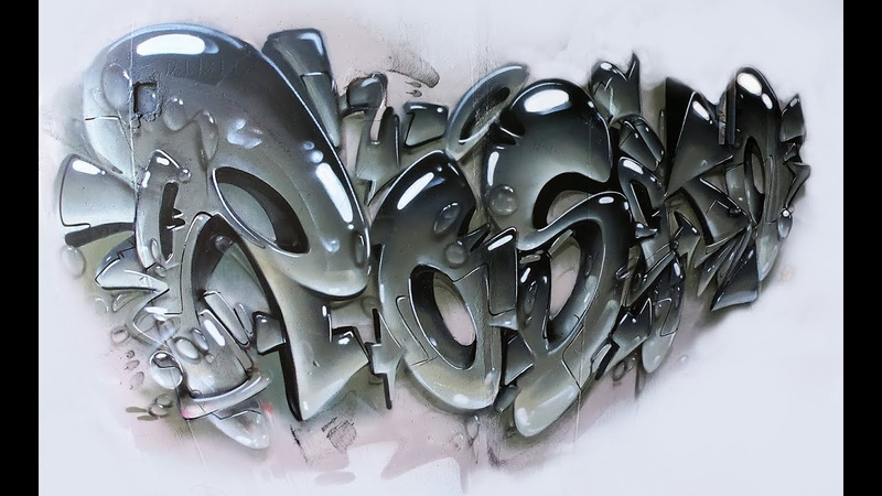 Realistic Style - Rasko Raw Graffiti
