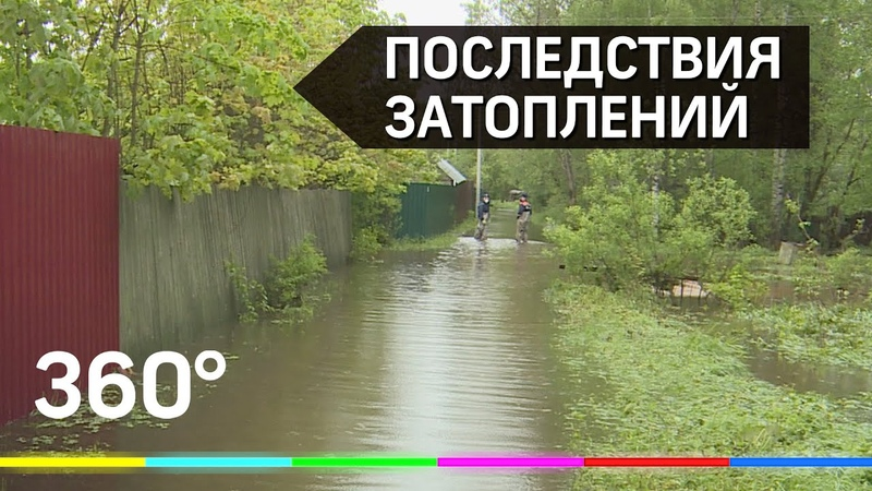 Следы большой воды: последствия подтоплений в Сергиево-Посадском городском округе