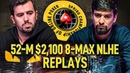 SCOOP 2020 52-M $2,100 probirs | srxakgirona | IgorKarkarof Final Table Poker Replays
