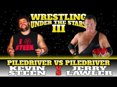 Kevin Steen Kevin Owens vs Jerry Lawler Wrestling Under the Stars 3 8 2 14