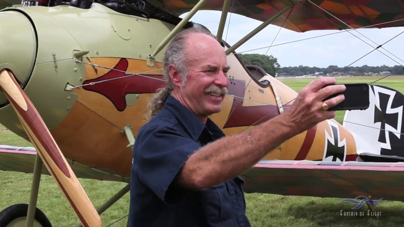 Albatros D.Va - First Flight Revisited (ПИЛОТ КЕРМИТ ВИКС Kermit Weeks)