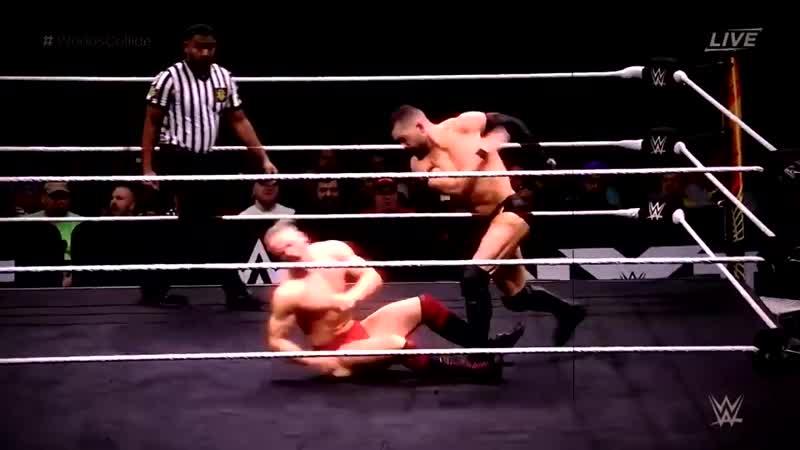 Finn Balor VS lija Dragunov NXT Worlds Collide Highlights HD