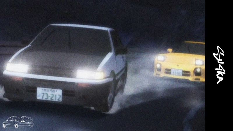 Silence of levin initial D AMV edit