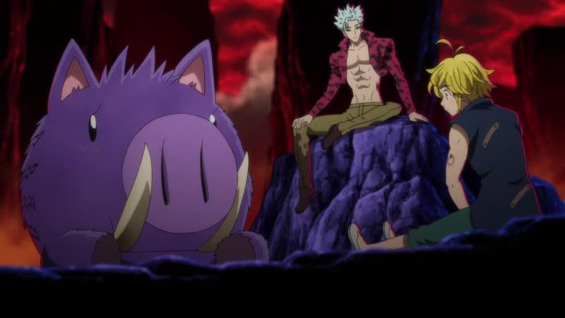 NewDub Семь смертных грехов Nanatsu no Taizai 4 сезон 8 серия озвучка Zendos Verner Veda Sati Akura
