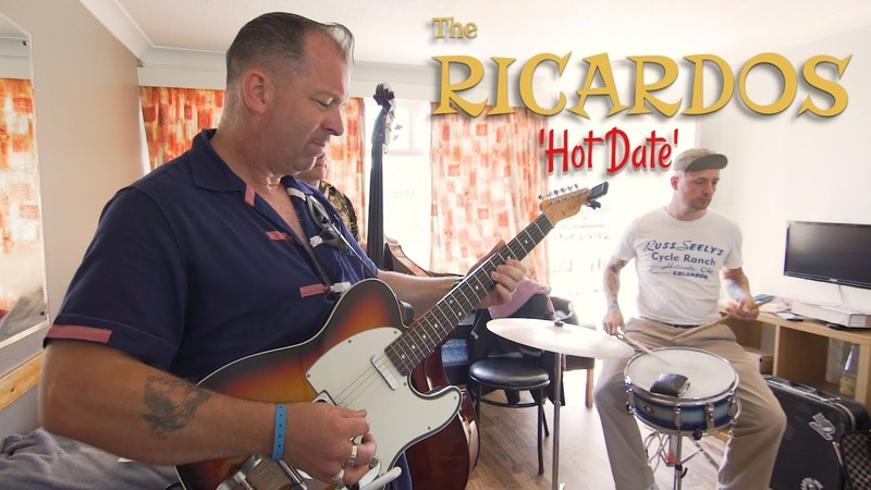 'Hot Date' THE RICARDOS Rockabilly Rave festival BOPFLIX sessions