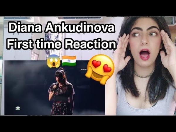 Diana Ankudinova cover Dernière danse Live Reaction 🇮🇳 She is Insane 😱