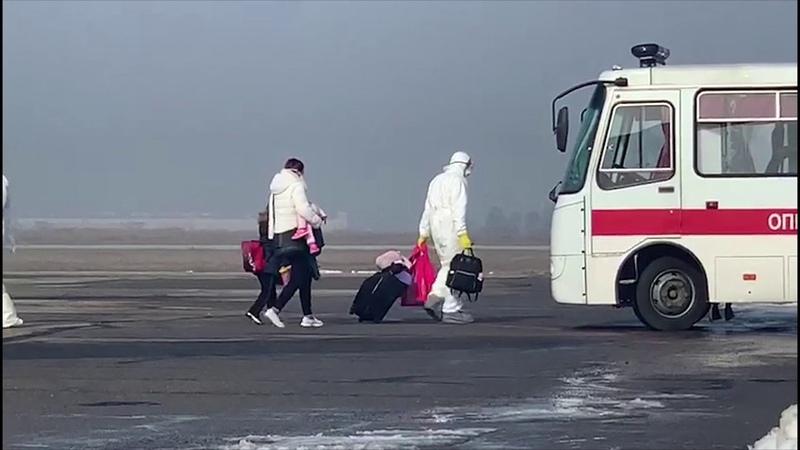У Харкові прикордонники забезпечили оформлення евакуйованих з КНР громадян
