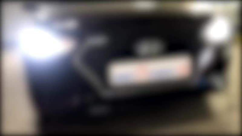 Ретрофит оптики на Nissan Laurel