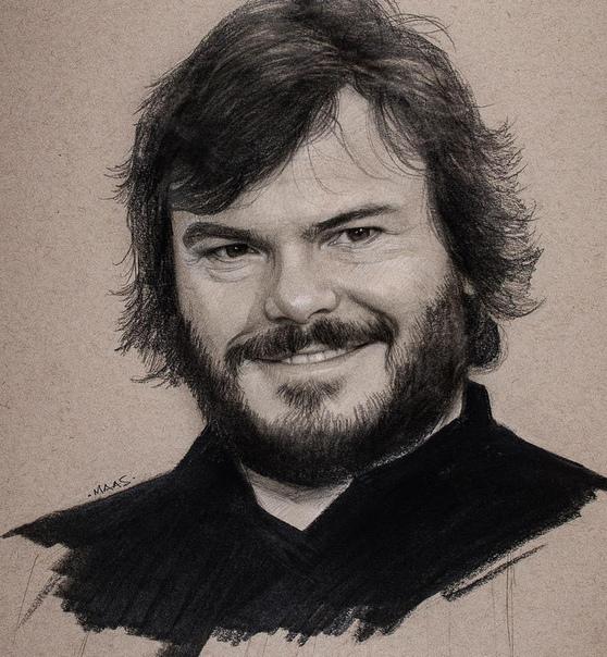Портреты знаменитостей Автор: Justin Maas