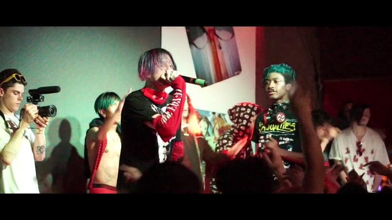Lil Peep Lil Tracy WitchBlades LIVE IN SF