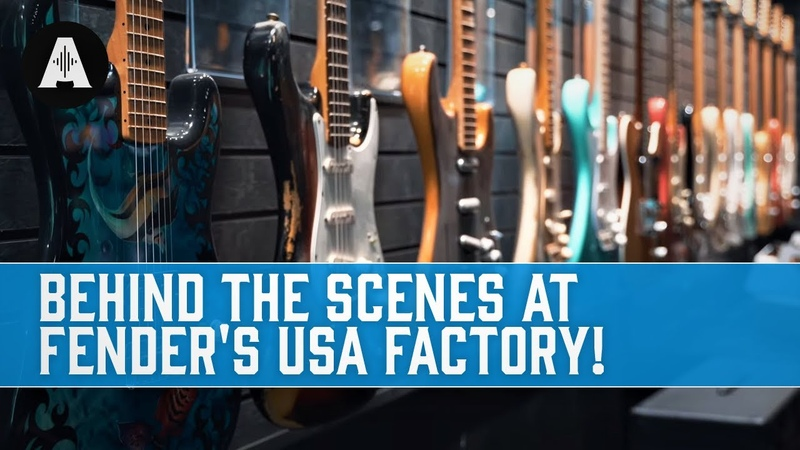 Behind The Scenes At The Fender USA Guitar Factory