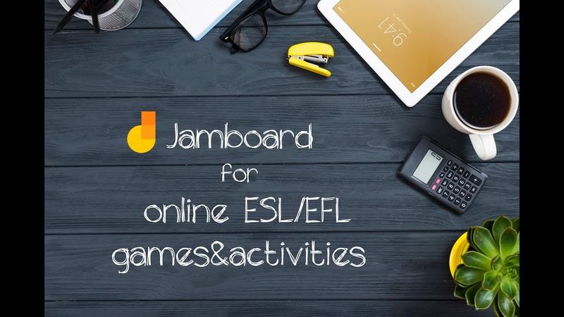 Jamboard for ESL EFL online classes Create and play ESL EFL board games and card games easily