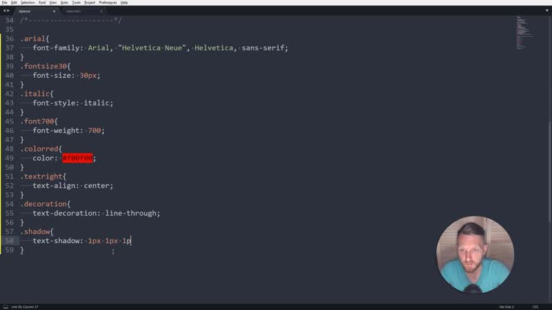 CSS Стили шрифта и текста CSS font size CSS color CSS text shadow Уроки HTML CSS JS Урок №6